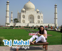 Taj Mahal - India, Agra